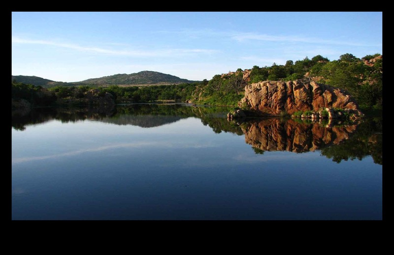 Osage Lake, Wichita Mountains