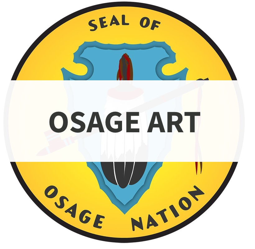 Osage Seal with the word art overlayed